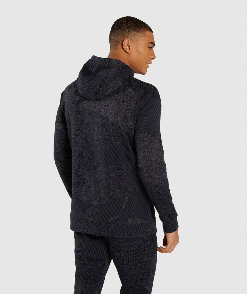 Gymshark Ultra Jacquard Pullover - Charcoal 2