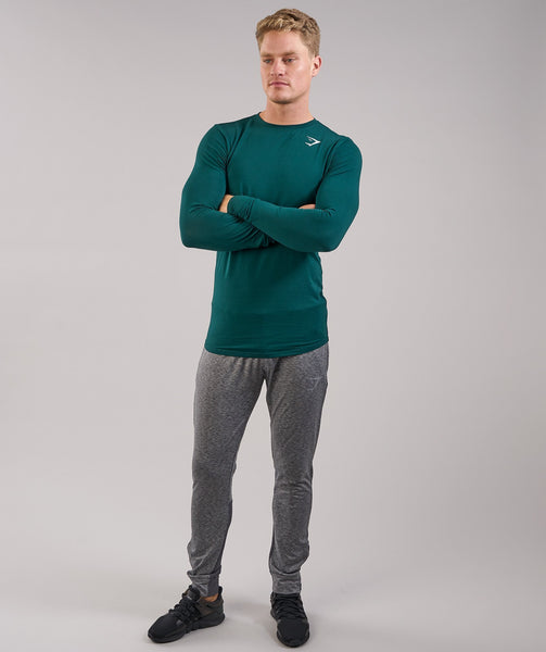 Gymshark Ark Long Sleeve T-Shirt - Forest Green 3