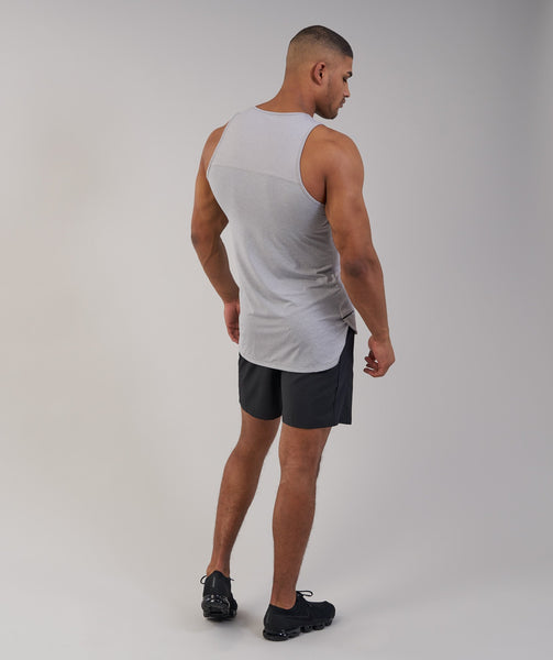 Gymshark Breathe Tank - Light Grey Marl 2