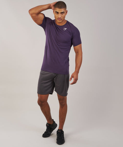 Gymshark Form T-Shirt - Nightshade Purple 2
