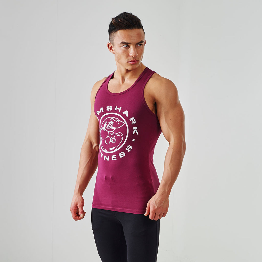 GymShark Fitness Tank Top - Tyrian Purple