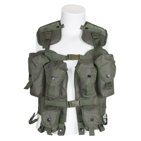 TACTICAL LOAD BEARING VEST - OLIVE DRAB
