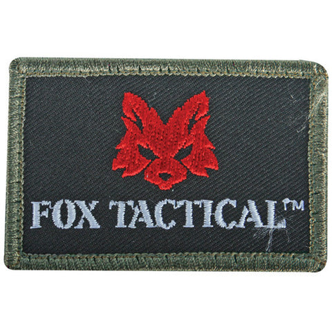 """FOX"" TACTICAL PATCH - OLIVE DRAB"