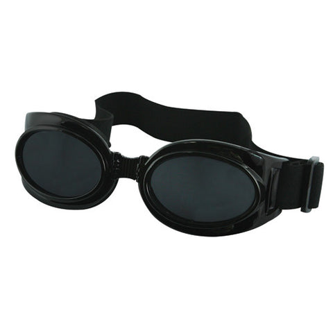 HUMVEE FOLDING BIKER GOGGLES (6 PER CASE) - BLACK