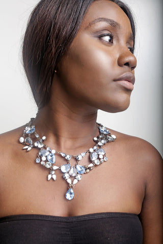 Crystal  Detail Necklace