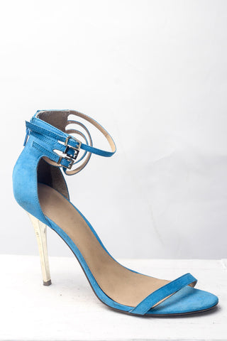 Blue Open Toe Sandals