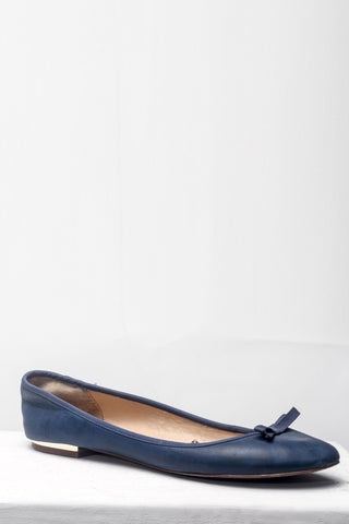 Blue Ballet Pumps