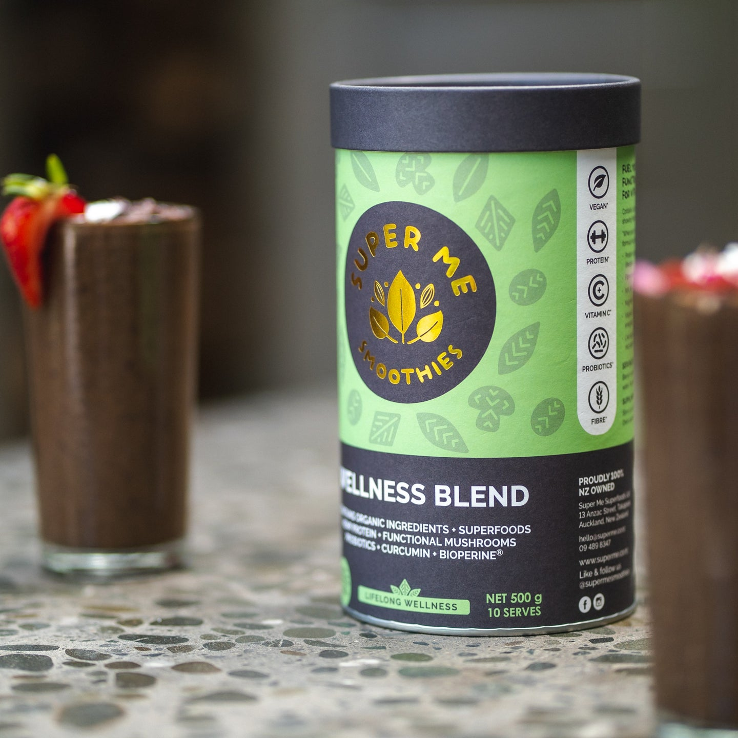Super Me Wellness Smoothie Blend