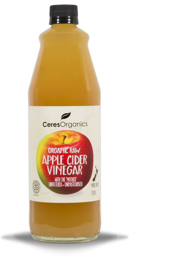 Ceres Organic Raw Apple Cider Vinegar 750mL