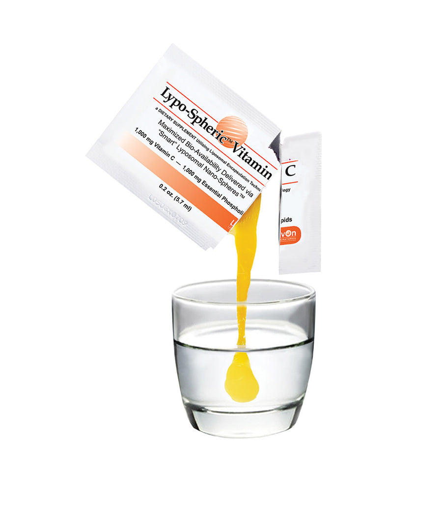 Lypo-Spheric Vitamin C BULK DISCOUNT $55.00 each (12 x 30 packets for $660)