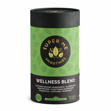 500G SUPER ME SMOOTHIES WELLNESS BLEND WITH SUPERFOODS, MUSHROOMS & PROBIOTICS (PRE-ORDER 1-OCT)
