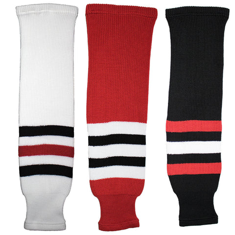Chicago Blackhawks Knit Hockey Socks (TronX SK200)