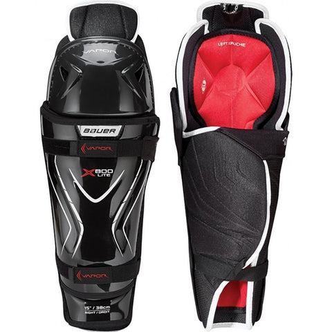 Bauer Vapor X800 Lite Senior Hockey Shin Guards