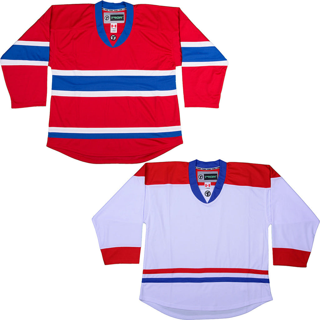 Montreal Canadiens Hockey Jersey - TronX DJ300 Replica Gamewear