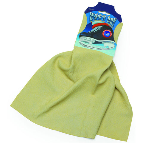 A&R Wipe 'N Dry Ice Skate Blade Chamois Cloth