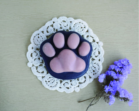 Handmade organic Cat Shaped Soap
