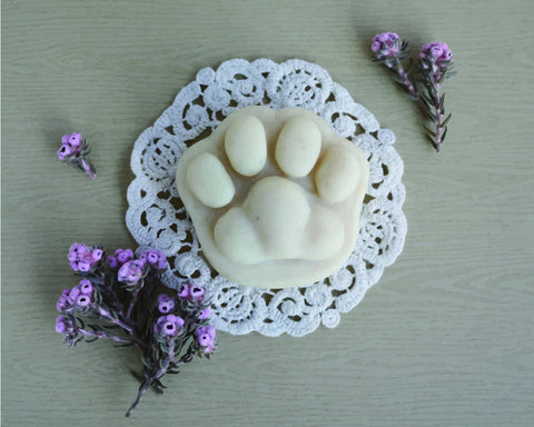 Pure Natural Cat Paw Shaped Soap