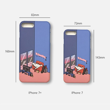 Mr.DoNothing 7/7+(plus) iPhone Case Template Sizes | Up Next