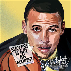 POP ART NBA BASKETBALL Player Poster DRAWING STEPHEN CURRY Wall Decor