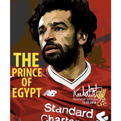 World Cup Soccer Football Player MOHAMED SALAH