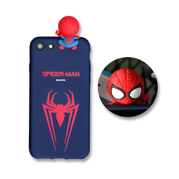 first rate cf21d 703c0 Marvel Avengers Spiderman Jelly Figure Soft iPhone Case