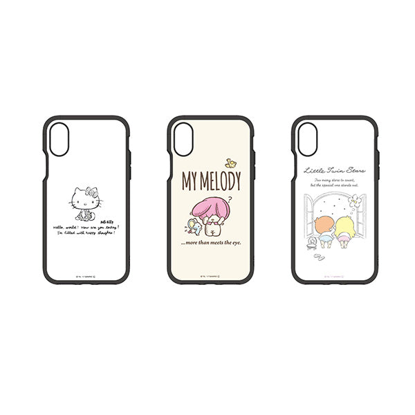 brand new d8286 45907 Sanrio Hello Kitty Melody Little Twin Stars iPhone X Smartphone Case