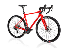 Parlee Chebacco Gloss Red - Complete Bike
