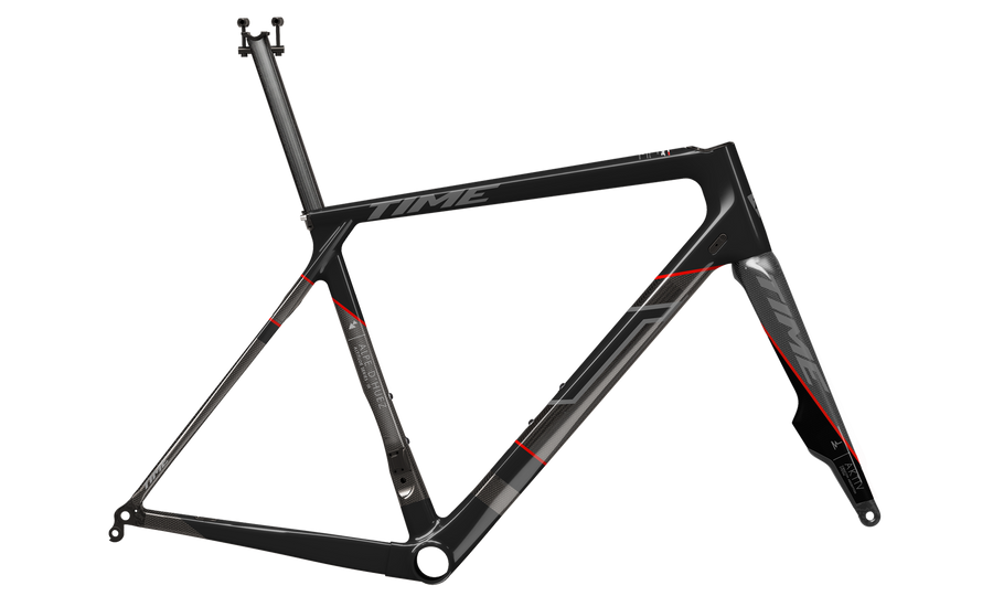 TIME Alpe D'huez 1 Disc Aktiv Black Label - Frameset