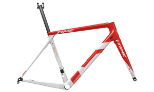 TIME Alpe D'huez 1 Disc Racing Red - Frameset