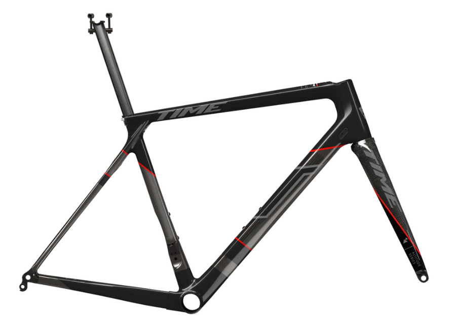 TIME Alpe D'huez 1 Disc Black Label - Frameset