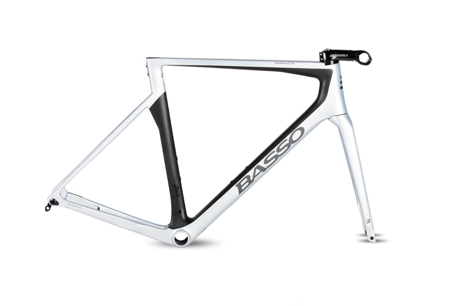 Basso Diamante SV 2021 Disc Brake Frameset Sharp Silver