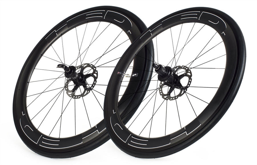 HED Jet 6 Plus Disc Brake Tubeless Wheelset