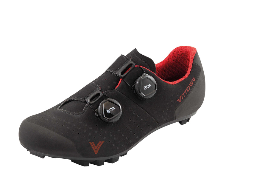 Vittoria Kom MTB Shoes - Black/Red