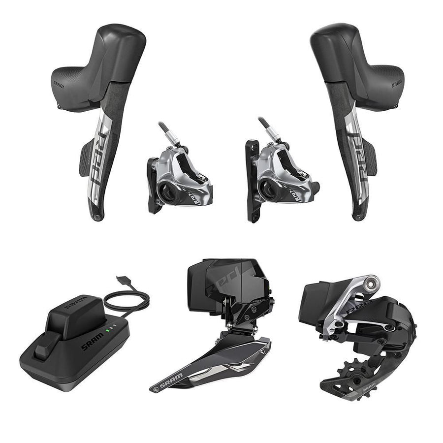 SRAM RED AXS HRD Road Kit - Disc Brake 2X12