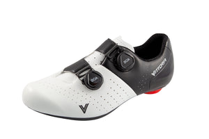 Vittoria Veloce Road Shoes - White/Black