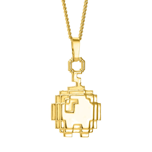 Gold plated Apple pendant
