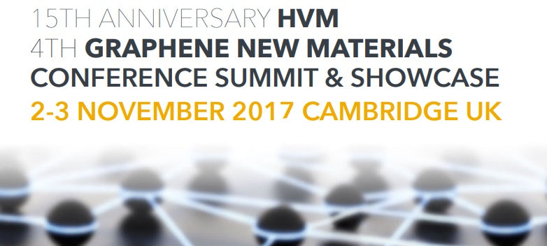 William Blythe Attends the 4th Graphene New Materials and 15th HVM Conference