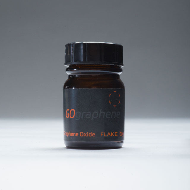 GOgraphene graphene oxide flake 1g bottle