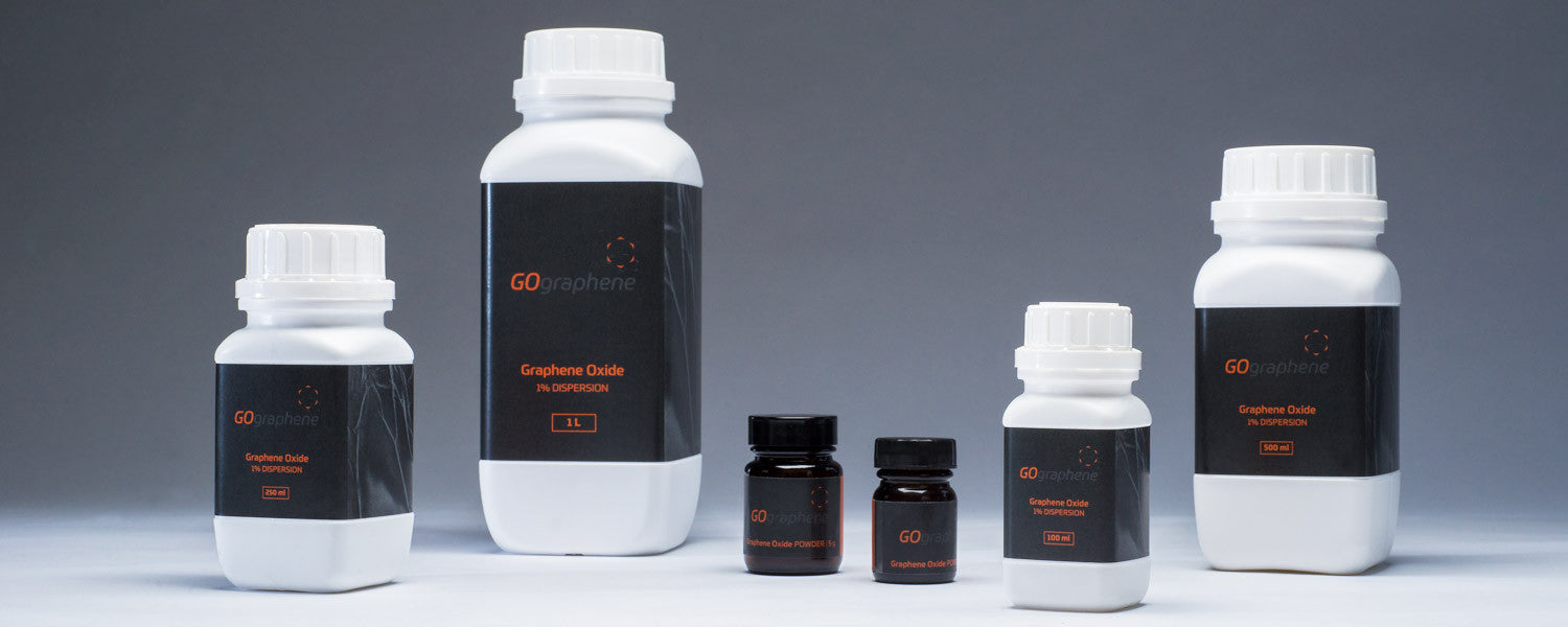 GOgraphene Graphene Oxide Dispersions and Powders