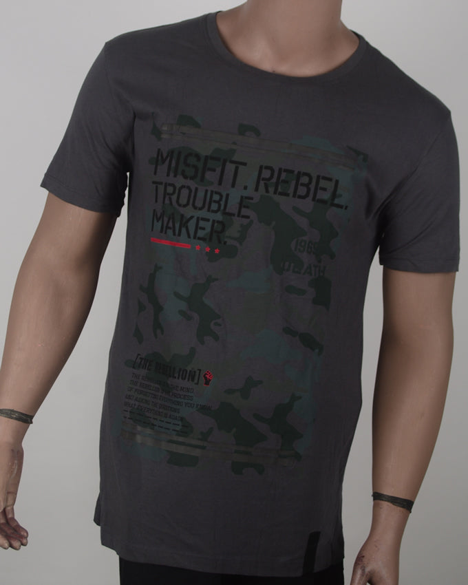 Misfit Rebel Camo Dark Grey - XL