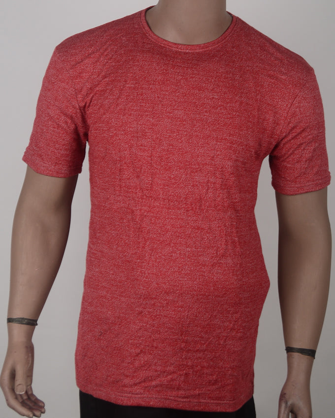 Plain Reddish T-shirt  - XL