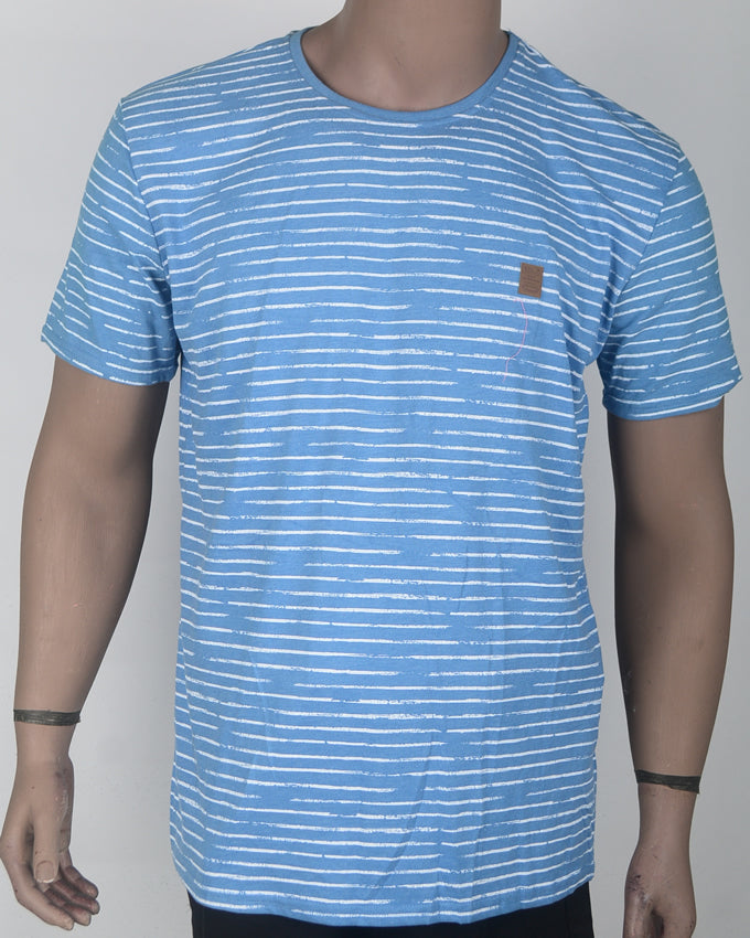 Light Blue Stripes - XL
