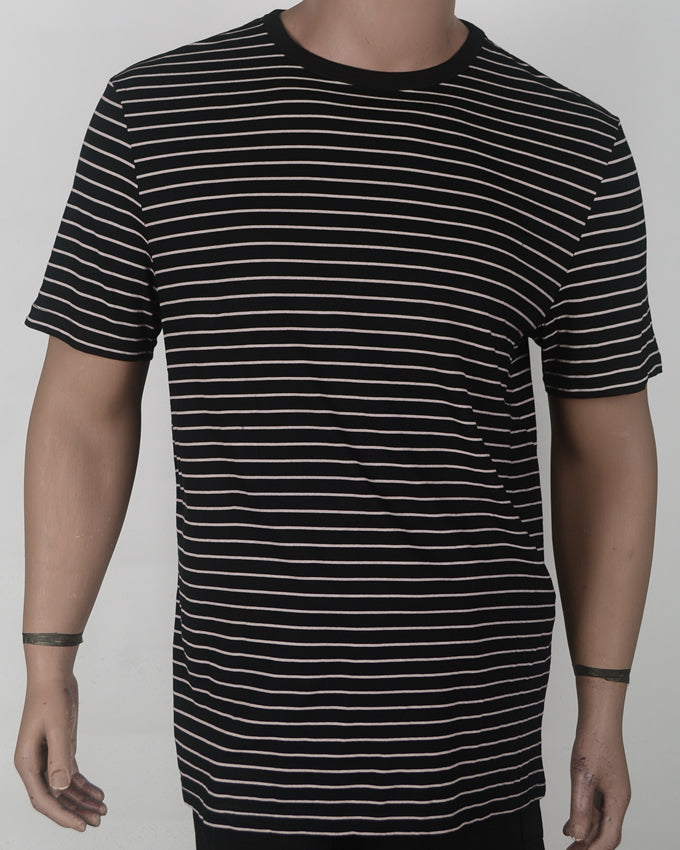Black With Stripes leaves - XL