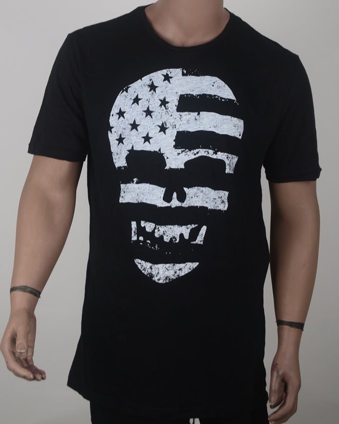 Skull Flag Black t-shirt - XL