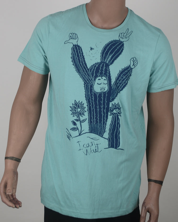Cant Wait Cactus2 - XL