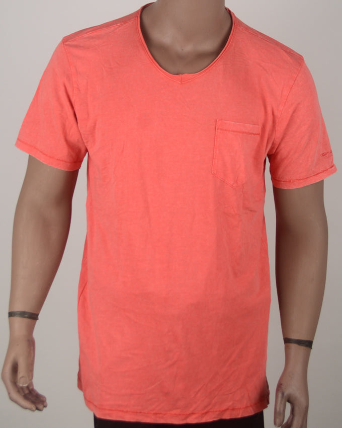 Plain Orange T-shirt - XXL