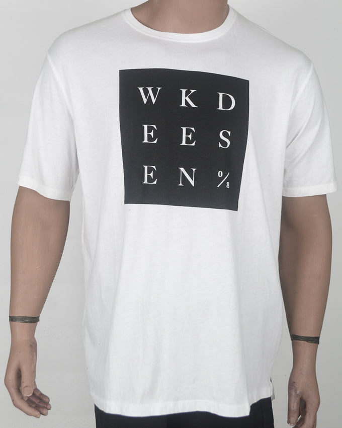Weekend White Print T-shirt - XXL