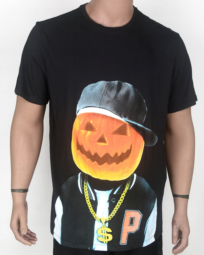 Pumpkin Head T-shirt - XL