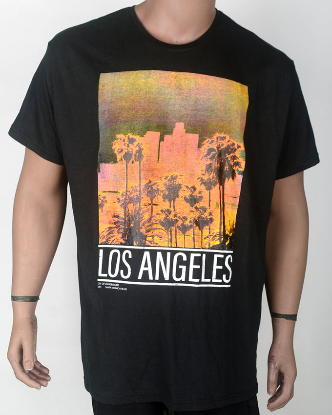 Los Angeles Grey T-shirt - XXL