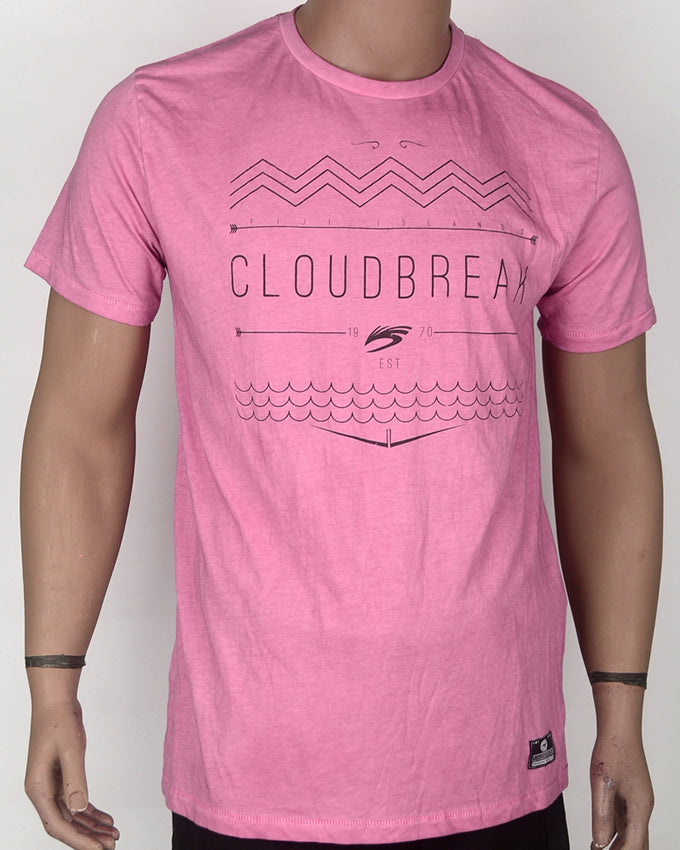 Cloud Break Print T-shirt - XL